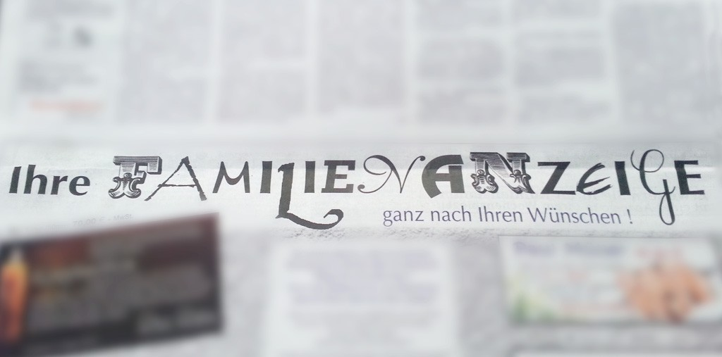 Typografie Wochenzeitung